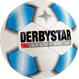 DERBYSTAR Fu�ball APUS PRO LIGHT Gr. 5 wei�/blau (#1718500161)