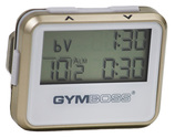 GYMBOSS Intervall Timer gold/weiss