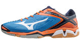 MIZUNO WAVE STEALTH 3 blau/orange (#X1GA140022)