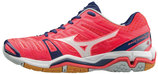 MIZUNO WAVE STEALTH 4 WOMEN pink/blau (#X1GB160063)