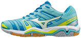 MIZUNO WAVE STEALTH 4 WOMEN blau/weiss (#X1GB160002)