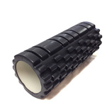 POWERTEAM Foam Roller EVA GRID schwarz