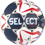 SELECT Handball ULTIMATE REPLICA CL weiss/blau/rot (#167x85x053)