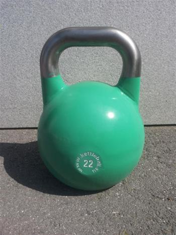 Wettkampf-Kettlebell Girevoy 22kg light green
